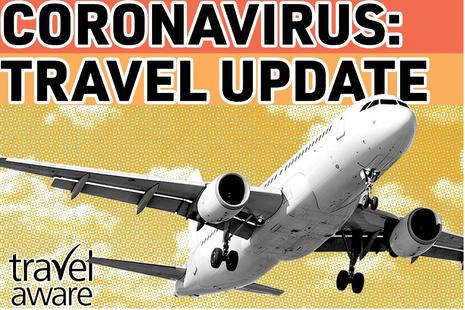 coronavirus travel update