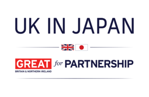 UK in JAPAN campaign logo