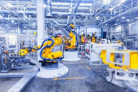 Room full of tech robotics