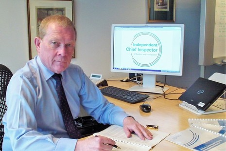 David Bolt, Chief Inspector of Borders and Immigration
