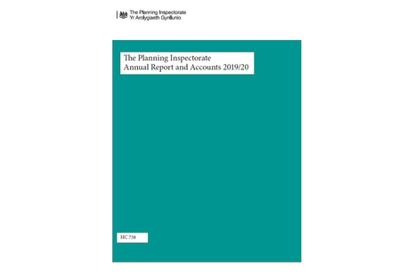 The Planning Inspectorate 2019/20 Annual Report and Accounts - Front Cover