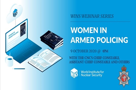 CNC officers will take part in a webinar on women in armed policing on 9 October