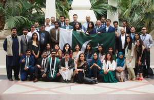 Call for emerging women leaders from Pakistan to apply for UK's Chevening scholarship scheme' within 'Pakistan