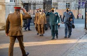 LAF Commander in the UK