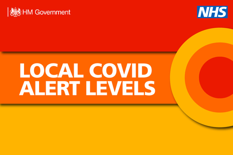 Local COVID alert levels