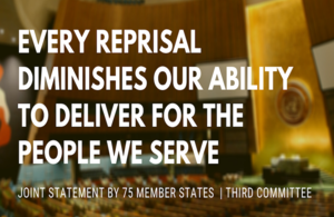 Every reprisal diminishes our ability to deliver for the people we serve