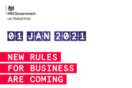 New rules for business are coming, 1 January 2021.