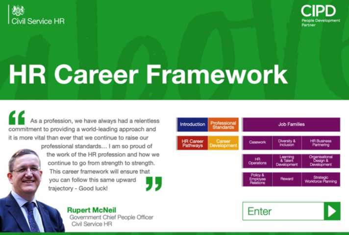Front cover of the HR Career Framework