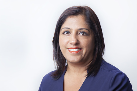Posed photograph of Ranuka Jagpal of The Insolvency Service