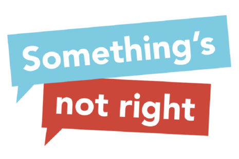 Something not right logo.
