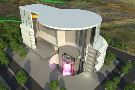 Conceptual illustration of the STEP fusion power plant
