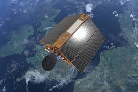 Sentinel-6 over UK (ESA/ATG Medialab)