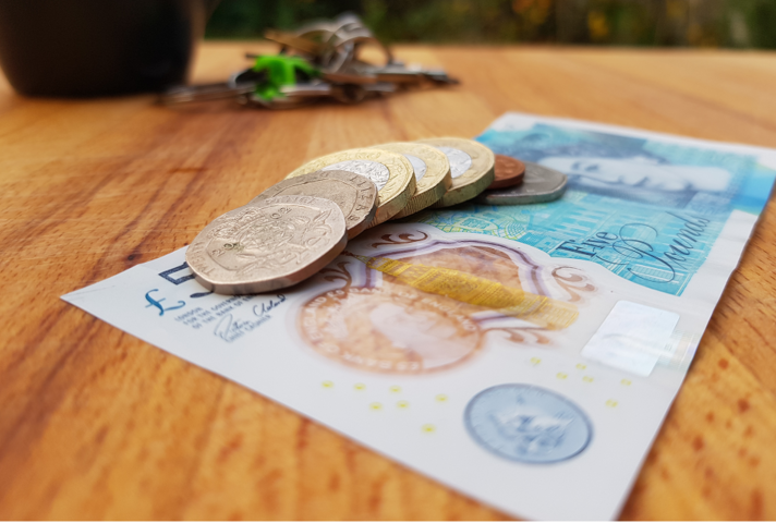 An image of £8.91, the incoming National Living Wage rate.