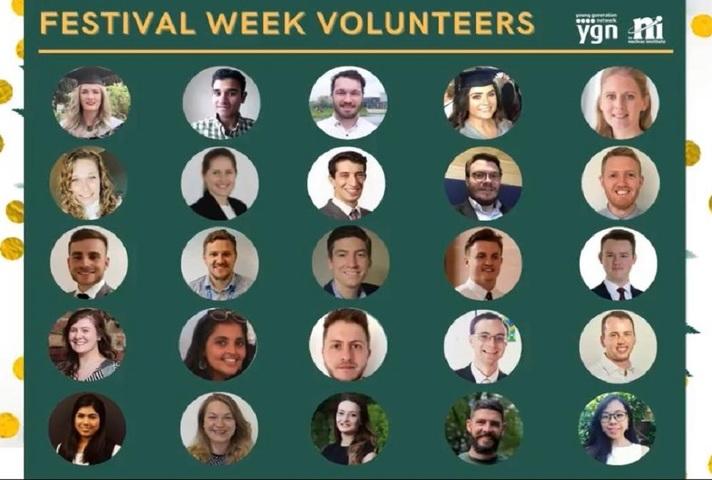 Volunteers from this years YGN Festival Week