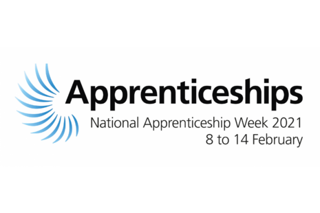 The National Apprenticeship Week 2021 logo.