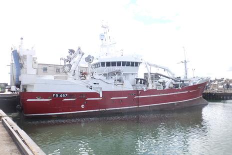 Photograph of pelagic trawler Sunbeam