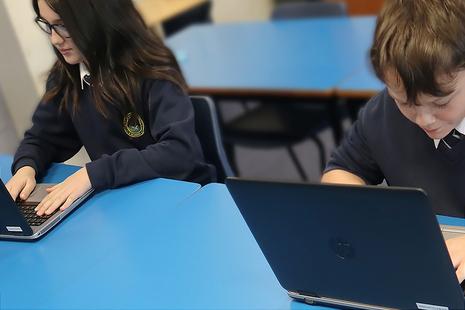 NDA donates laptops to schools