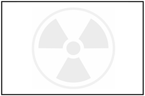 Radioactive waste symbol