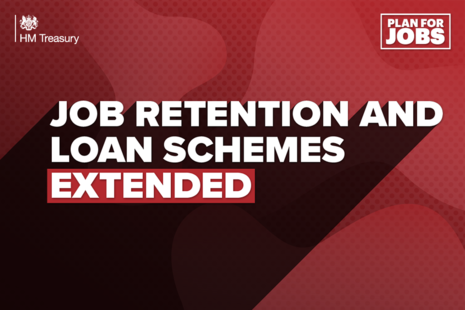 Job Retention and Loans Schemes extended