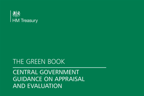The Green Book: appraisal and evaluation in central government