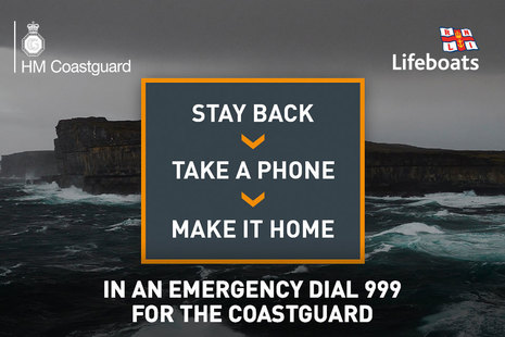 HM Coastguard Winter Safety Campaign