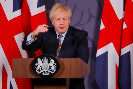 Prime Minister Boris Johnson makes statement on EU negotiations