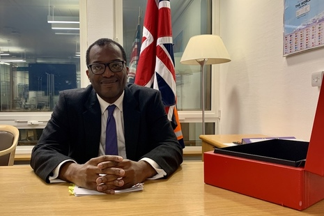 Kwasi Kwarteng, Secretary of State for Business, Energy and Industrial Strategy