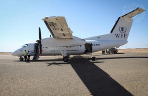 WFP delivery in Niger (UN Photo)