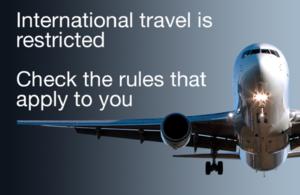 Read the 'Travel advice: coronavirus (COVID-19)' article