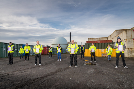 Dounreay Health Physics trainees complete their training in 2020