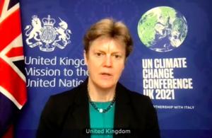 Ambassador Barbara Woodward at the UN Security Council briefing on Yemen
