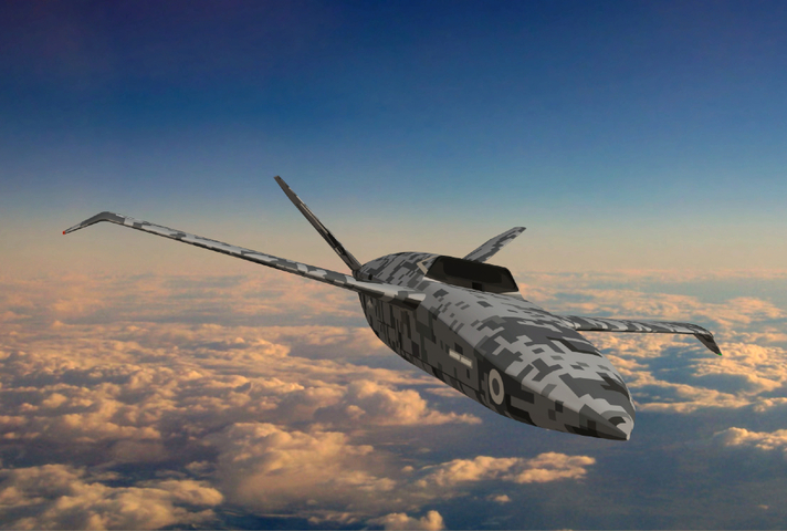Visualisation of uncrewed combat aircraft, project Mosquito