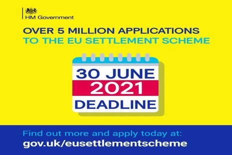 Landmark EU Settlement Scheme reaches five million applications