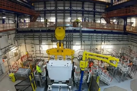 BEPPS DIF on the Sellafield site