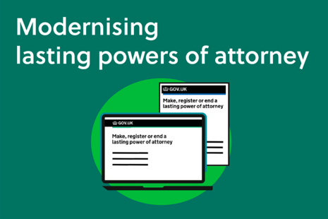 Modernising lasting powers of attorney