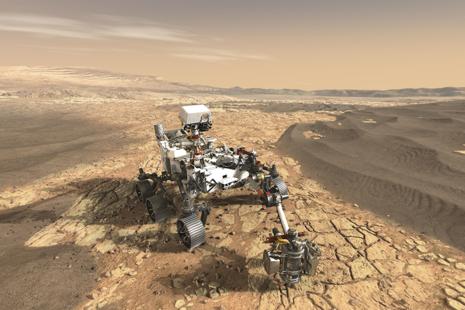 Perseverance rover (NASA/JPL-Caltech)