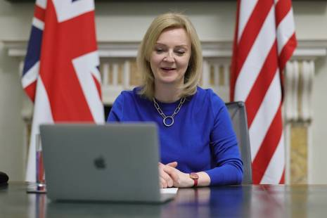 International Trade Secretary, liz Truss
