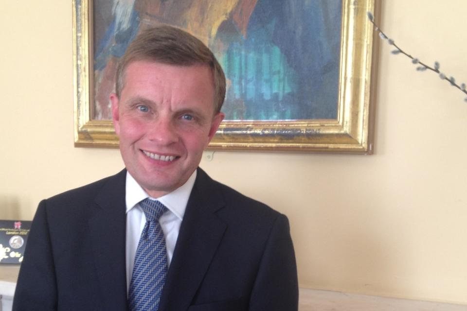 Secretary of State for Wales, David Jones.