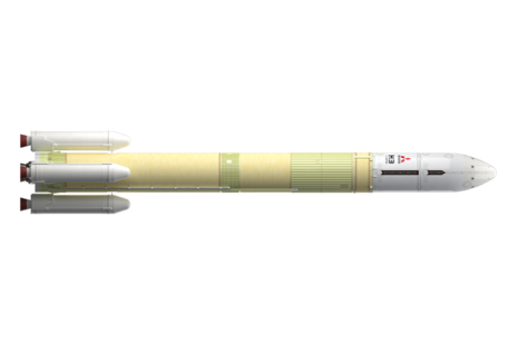 The MHI H3 rocket that will be used in the InRange project. Credit: MHI