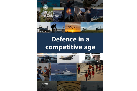 Front cover of the Defence Command Paper.