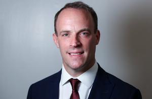 Dominic Raab, UK Foreign Secretary