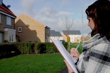 Planning Inspector undertaking a site visit