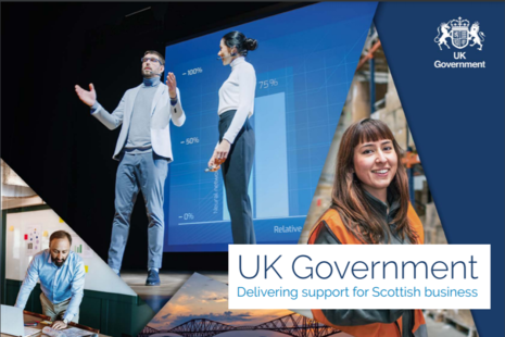 UK Government delivering support for Scottish business