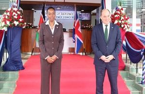 Ben Wallace visit to Kenya