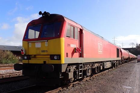 Train in sidings