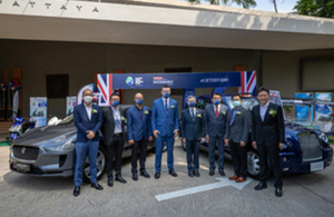 British Embassy Bangkok showcases British EV and smart city solutions ahead of COP26