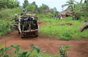 MONUSCO peacekeepers in DRC (UN Photo)