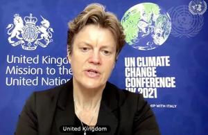 Ambassador Barbara Woodward (UN Photo)