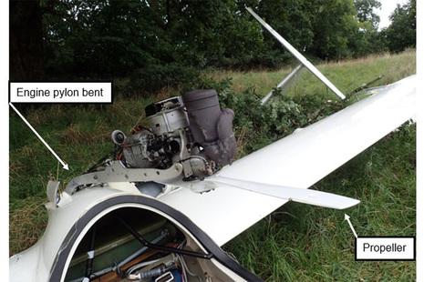 Crashed glider
