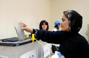 Elections in Iraq (UN Photo)